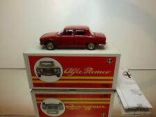 TOGI 8/72 ALFA ROMEO 2000 BERLINA - RED 1:23 RARE - EXCELLENT IN BOX