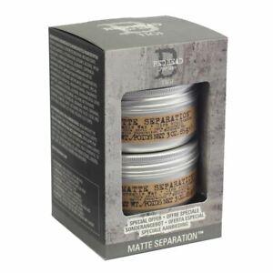 Bed Head Matte Separation Duo Set (85g x 2 tubs) BNIB