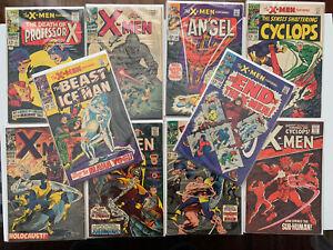 The X-Men Silver Age Mixed Comic Book Lot 26-47 FN/VF Ten Comics