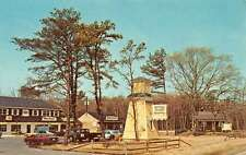 Marmora New Jersey Wayside Village Shopping Square Vintage Postcard K61295