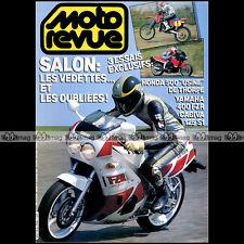 MOTO REVUE N°2768 YAMAHA 400 FZR, CAGIVA 125 S1, HONDA RC M 500 DAVE THORPE 1986