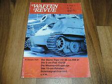 WAFFEN REVUE 93 -- STURM-TIGER mit 38 cm RW 61 / 7,5 cm GEBIRGSGESCHÜTZ / V 1