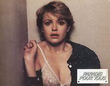 FANNY COTTENÇON PARADIS POUR TOUS  1982 PHOTO D'EXPLOITATION