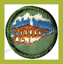 WORLD NEIGHBOR Junior Girl Scout Badge NEW 1960 Our Chalet International Combine