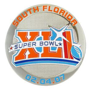 2007 NFL Super Bowl XLI South Florida Magnet - Bears vs Colts