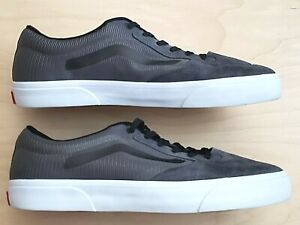 VANS ROWLEY PRO LITE PEWTER ULTRACUSH MEN'S CASUAL SKATE SHOES SIZE 11.5 - EUC