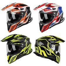 Airoh Commander Adventure Helmet Motocross ATV Dual Sport Crash Lid Graphic
