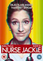 Nurse Jackie: Season 6 DVD (2015) Edie Falco cert 15 2 discs ***NEW***