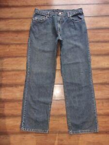 CLAIBORNE DENIM ~ Men's Size 36 X 32 ~ CLASSIC Denim Straight Fit Jeans 36X32
