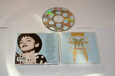 MADONNA  - THE IMMACULATE COLLECTION - MUSIC CD RELEASE YEAR:1990