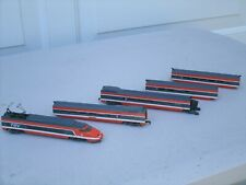 Vintage Bachmann Hong Kong 5 Piece N Scale Passenger Train