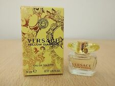 Versace Yellow Diamond for Women 5 ml EDT MINI MINIATURE PERFUME FRAGRANCE NEW