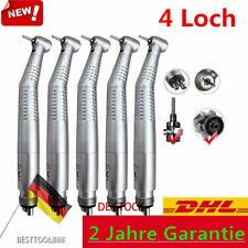 NEU 5* Dental Handstück High Speed LED Fiber Optic Handpiece Turbine 4-Loch SALE