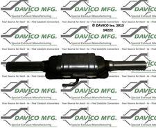 Catalytic Converter-Exact-Fit Davico Exc CA 14222