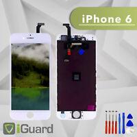 PREMIUM LCD Display für iPhone 6 Weiss SUPER RETINA Screen Ersatz Bildschirm
