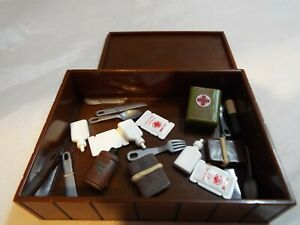 G.I.JOE, ACTION FORCE 12 INCH FIGURE ACCESSORY BOX OF RATIONS AND MEDKITS