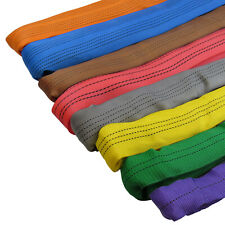 More details for lifting round slings 1 ton to 20 ton, 0.5 metre up to 6 metre ewl (polyester)