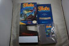 Faria (Nintendo NES) Complete in Box w/ Map NEAR MINT