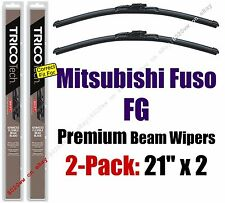 Wiper Blades 2-Pack Premium - fit 1998-2004 Mitsubishi Fuso FG - 19210x2