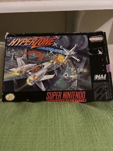 Hyper Zone Hyperzone - SNES Super Nintendo Game - Tested - Working - Authentic