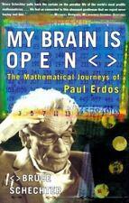 MY BRAIN IS OPEN: The Mathematical Journeys of Paul Erdos, Schechter, Bruce, Goo