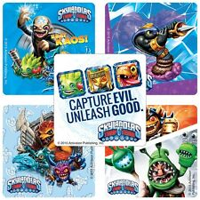 Skylanders Stickers x 5 - Birthday Party Favours TRAP TEAM - PS4 PS3 - Stickers