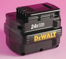 DeWALT DE0240 24V 2.0Ah Battery Pack 24 Volt NEW & GENUINE
