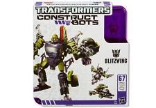 Hasbro Transformers Construct Bots Blitzwing 3 en 1 67 Partes A4708