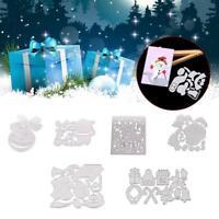 DIY Metal Cutting Dies Cut Mold Christmas Scrapbook T1Y5 Tool Stencil K2B4
