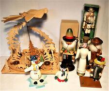 Konvolut Weihnachten Figuren Pyramide Räuchermann Engel Nußknacker Ersatzteil