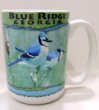 Blue Jay Blue Ridge Georgia Mug Coffee Cup Bird Appalachian Mountains The South