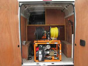Peugeot Boxer 335 2.0 BlueHDi 130 EU6 L2 H2 prof with used 3000 @ 8gpm jetter