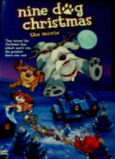 NINE DOG CHRISTMAS The MOVIE (2005) James Earl Jones Gary Morris SEALED