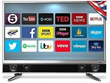 "Cello P 32-Inch Platinum 32"" Smart LED TV Freeview T2 HD-and Built"
