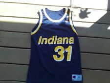 Reggie Miller #31 Indiana Pacers Size 40 Champion Jersey