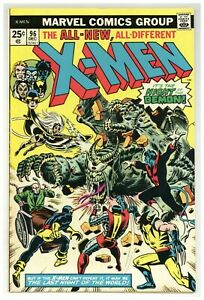 X-Men 96 Marvel Comics 1975 Wolverine Claremont Cockrum Storm Cyclops (j#3941)