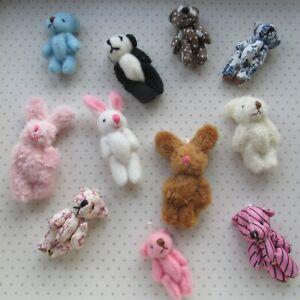 Mini Teddy Bears/Bunny Christmas Special Party Bags/Gift/Wedding/Favour/Keepsake