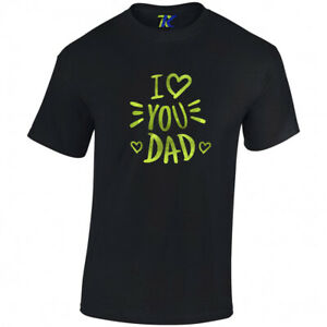 Father's Day Ringspun Cotton t-shirts METALLIC GLOSSY GRAPHIC