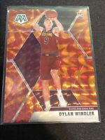 DYLAN WINDLER Rookie RC Orange Reactive PRIZM Mosaic Basketball Cavs #208