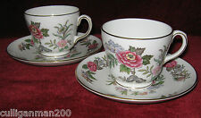 1 - Lot of 2 - Wedgwood CathayTea Cups and Saucers (2015-147)