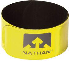 Nathan Running Jogging Cycling Reflex Snap Band High Viz Yellow