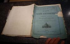 Bulletin Société d'Encouragement Industrie 1875 Bateau-Drague Fluviale Danube