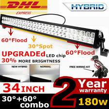 180W LED Arbeitsscheinwerfer Flutlicht Light bar SUV 4x4 Offroad Jeep 240w 300W