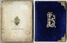Handschrift: Gedichtsammlung von L.B. aus Ehsegg (Osijek, Kroatien), von 1886 ff