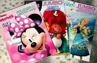 Frozen,minnie,trolls lot of 3 Jumbo Coloring and Activity Books for Children