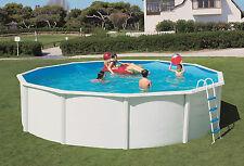 Pool Set Stahlwand Schwimmbecken Komplett Set 3,50 X 1,20m