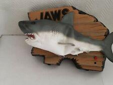 Gemmy Jaws Singing Fish Shark Wall Decor Bar Man Cave Novelty