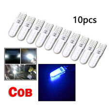 10pcs/Set Blue T10 W5W COB 2835 12 LED Car Canbus License Plate Lamp Light Bulb