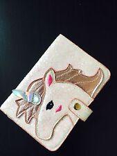 Unicorn Shaped Fashion Passport documents folder bag Cute wallet luggage tag