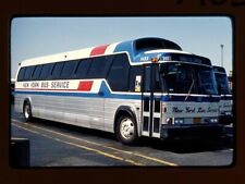 Original Slide Bus, New York Bus Service 1403, Kodachrome 1981